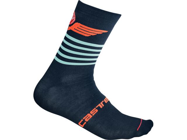 Castelli Lancio 15 Socken dress blue